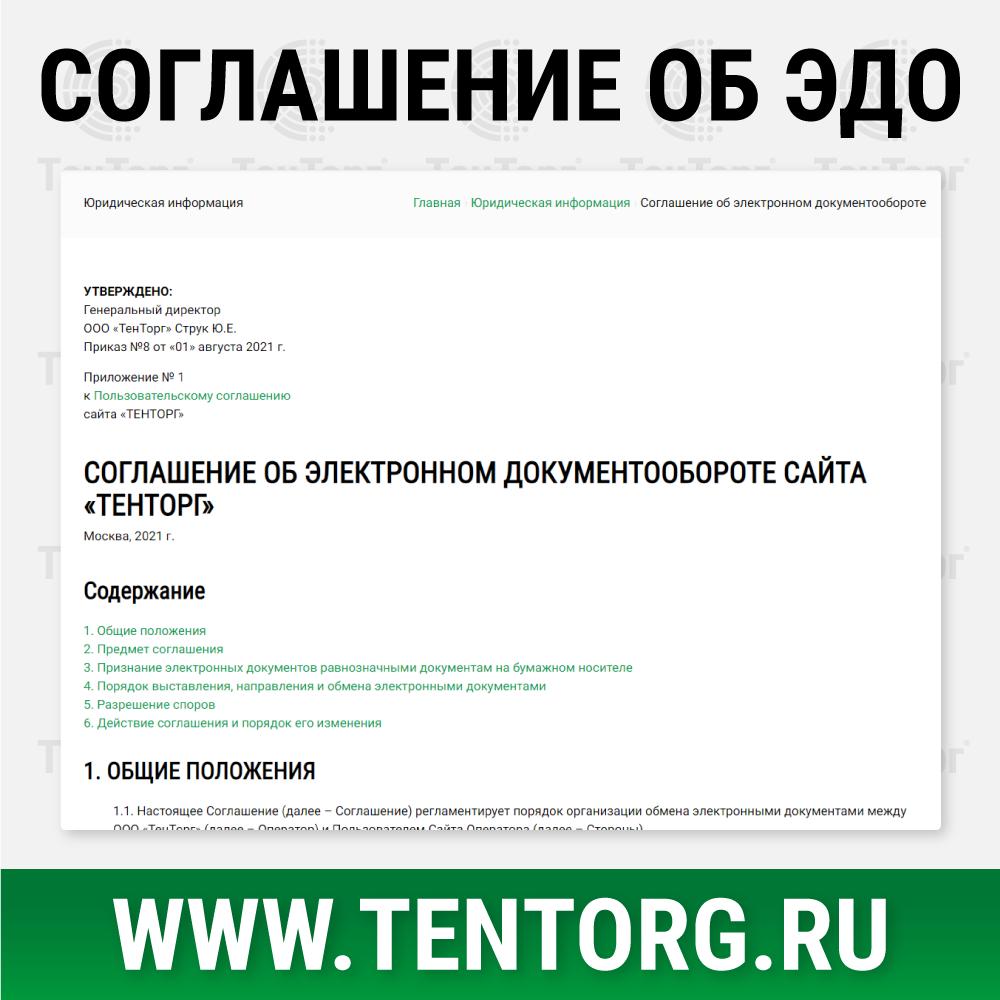 Соглашение об электронном документообороте